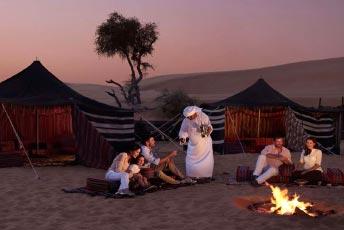 Overnight Desert Safari Abu Dhabi