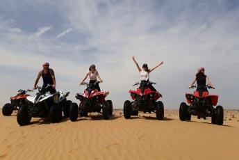 Quad Biking Desert Safari Abu Dhabi