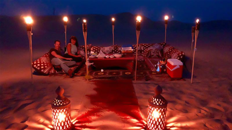 Romantic Dune Dinner Abu Dhabi